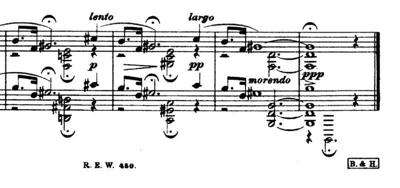 Erkki Melartin «Skymning vid ån» (Helsingfors, R.E. Westerlund, n.d.[1921]. Plate R.E.W. 450.)
