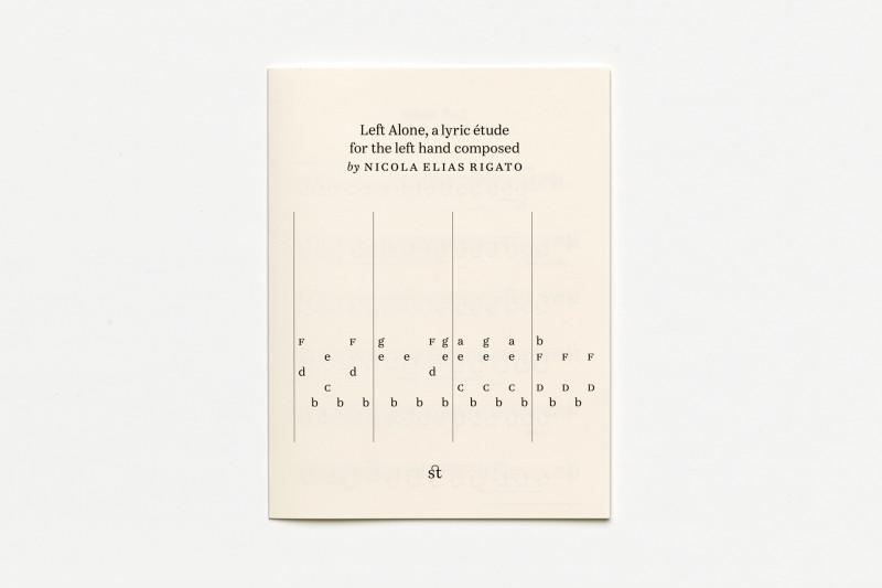 Nicola Elias Rigato «Left alone». Издательство Терентьева, 2020