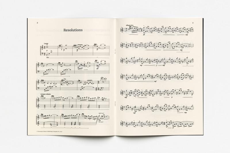 Roman Stolyar, Two Spontaneous Piano Improvisations (Resolutions)