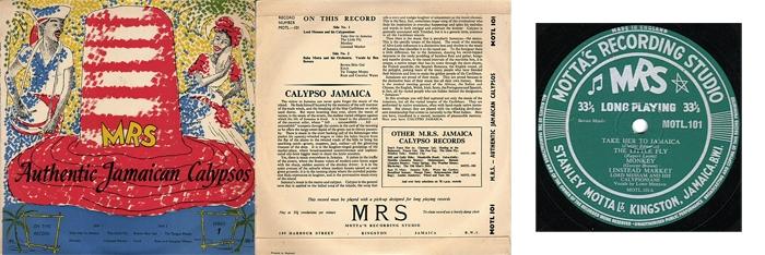 Дизайн первой из пяти «сорокапяток» с переизданиями песен, выходивших на 78 оборотах. Внешний вид сохраняет оригинальный стиль оформления пластинок на MRS.