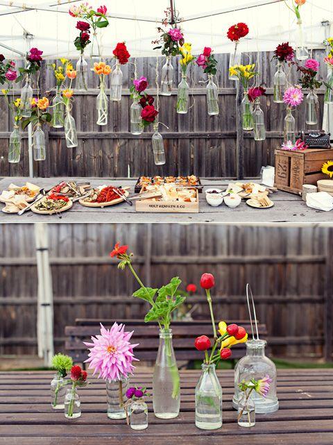 Как украсить дачу для свадьбы своими руками