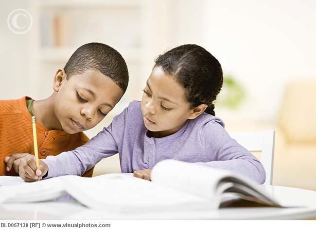Mixed_Race_siblings_studying_BLD057130