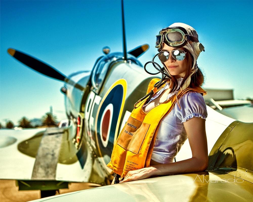 airplane-girls