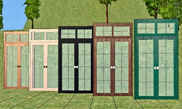 Rattan Living Door Recolors Lady T Sims 2 Designs