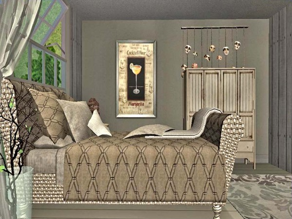 Chesterfield Inspired Bed Recolors Lady T Sims 2 Designs