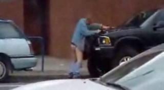 Видео трахнул выхлопную трубу