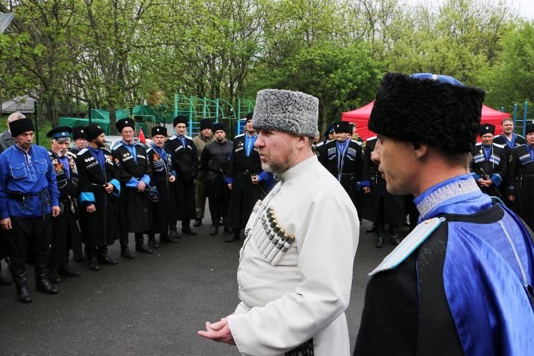 природного материала терские казаки сегодня фото снимки частично