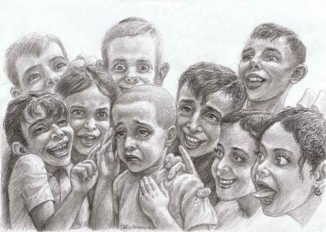 Дети жестокость