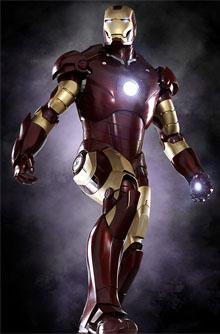 Робот-костюм из Iron Man