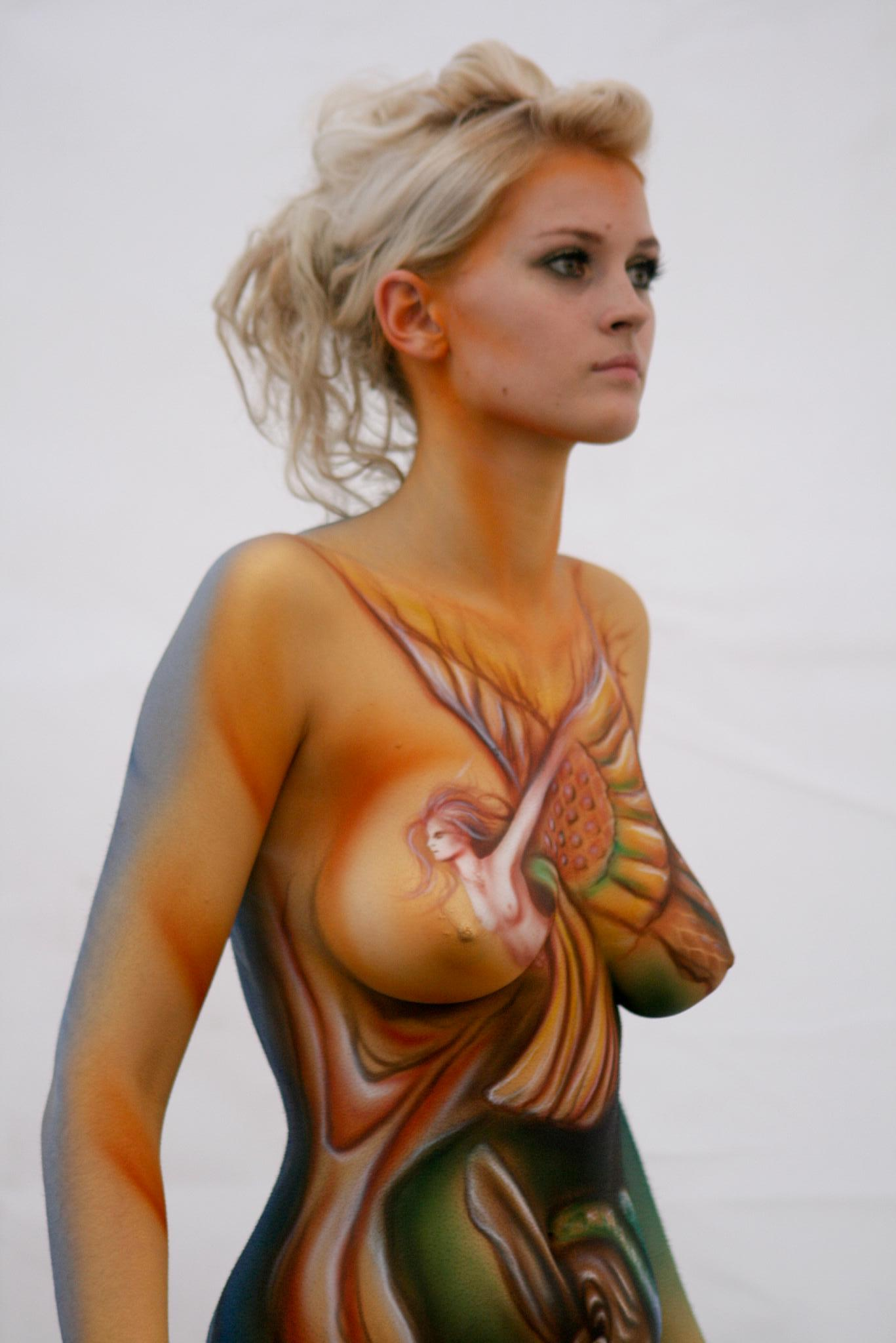 Full Body Paint Before And After Female Body Paint Before And After