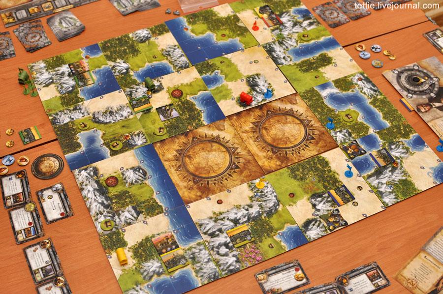 Игровой процесс настольной Цивилизации Сида Мейера 01