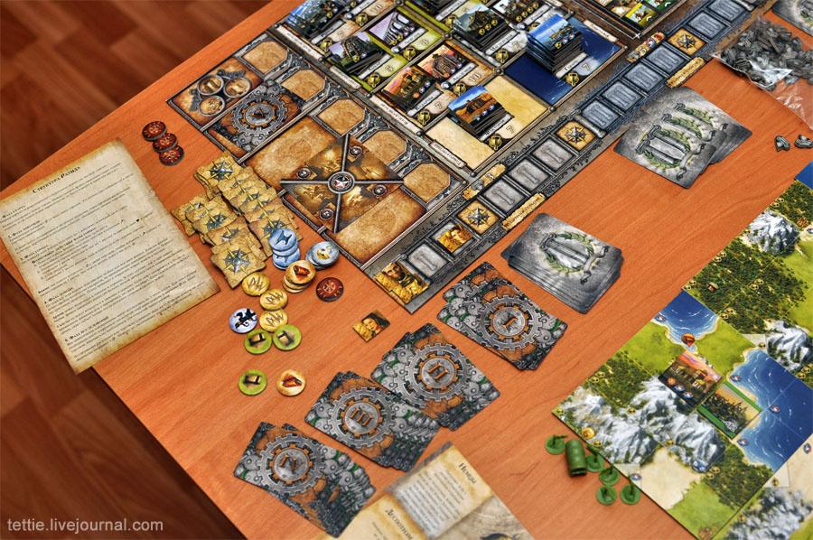 Игровой процесс настольной Цивилизации Сида Мейера 02