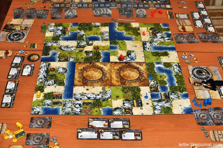 Игровой процесс настольной Цивилизации Сида Мейера 04