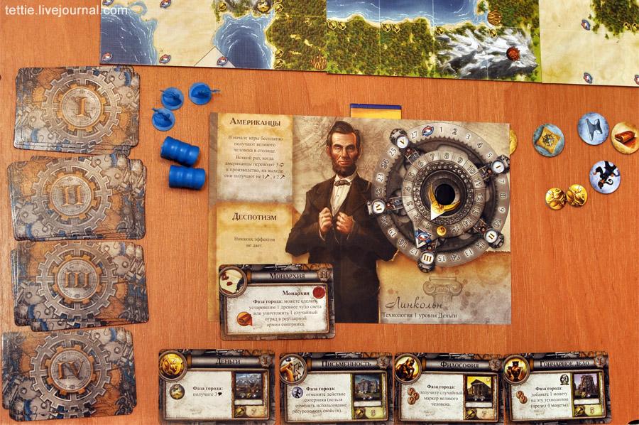 Игровой процесс настольной Цивилизации Сида Мейера 06