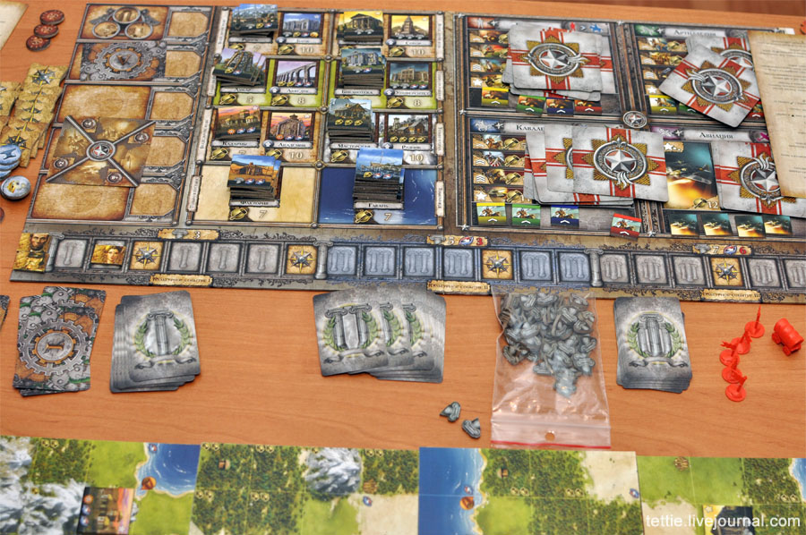 Игровой процесс настольной Цивилизации Сида Мейера 07