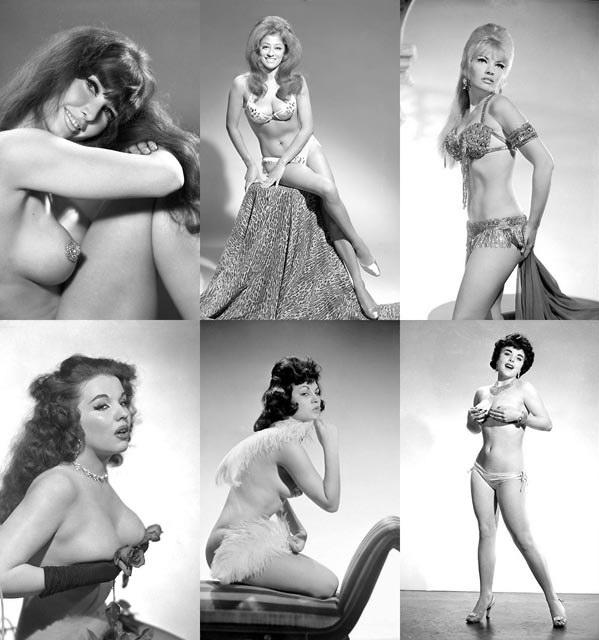 Американские стриптизерши 60-х годов