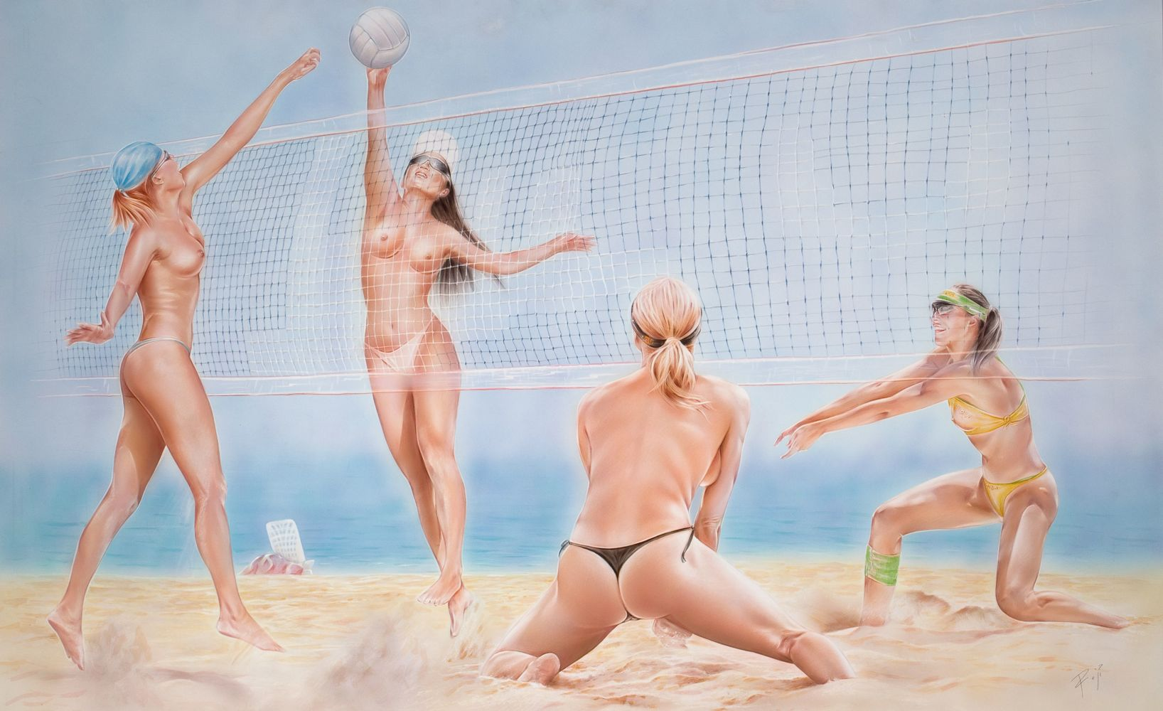 The Naked Girls of the USA Olympic Volleyball Team PHOTOS