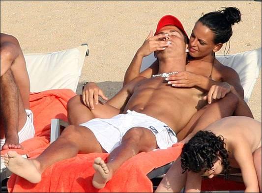 Ronaldo with Girls 10