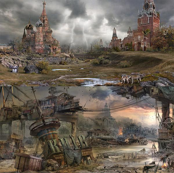 Постапокалиптические Россия и Украина