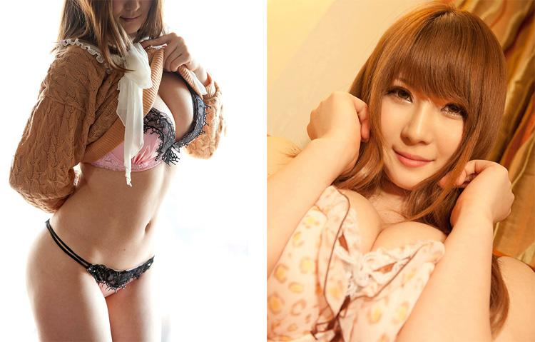 Самые популярные японские порнозвезды