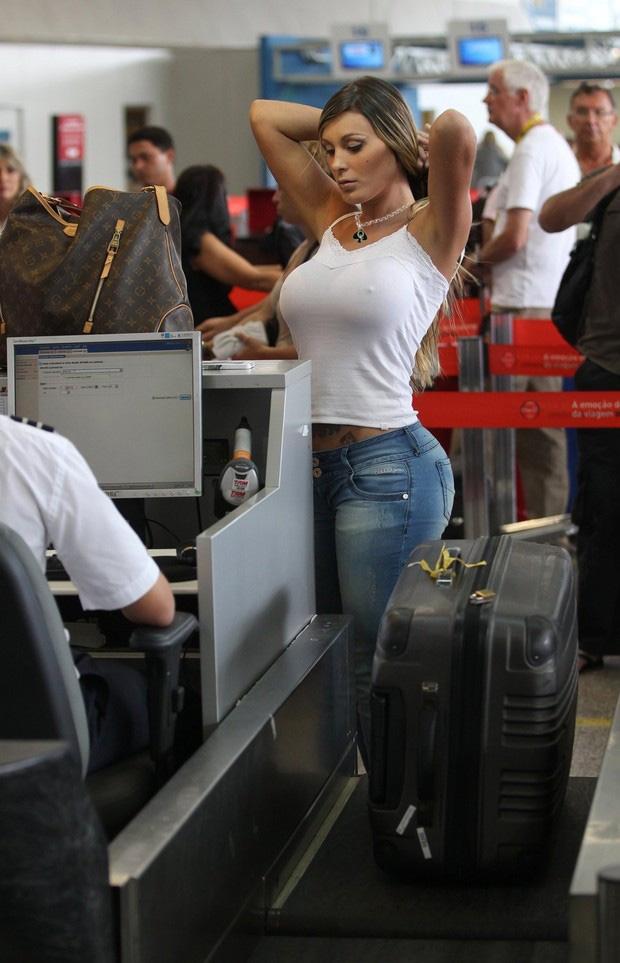 Бразильская модель Andressa Urach