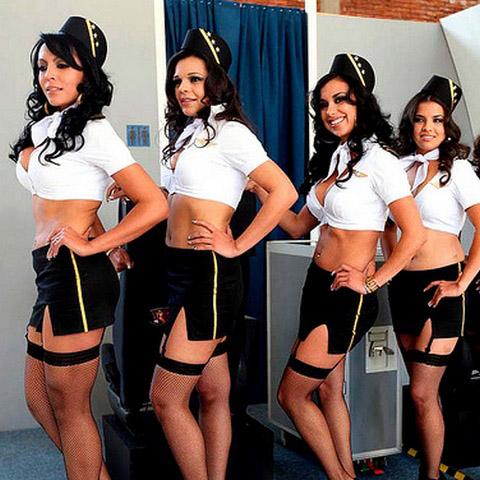Stewardess 08