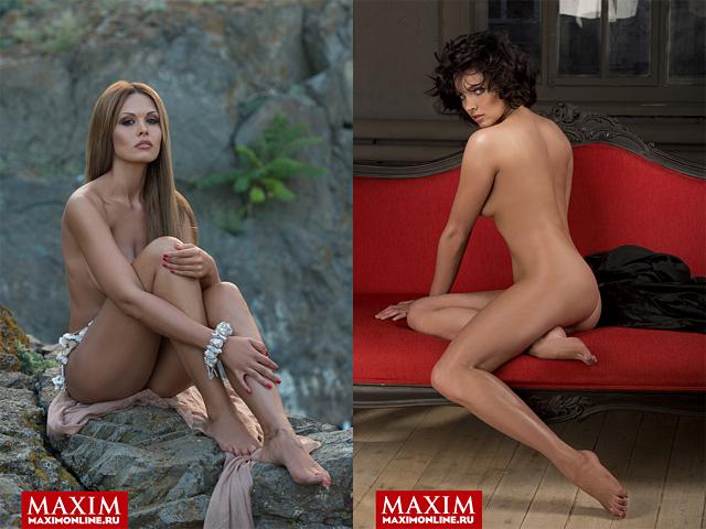 Лучшие фотосессии журнала MAXIM за 2013 год