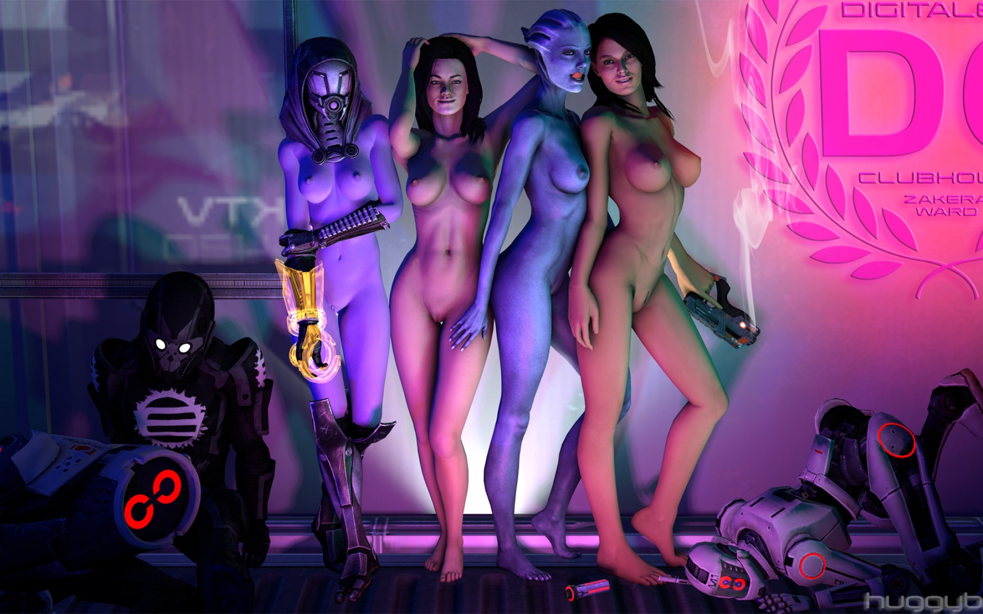 Голая персонажи из игр