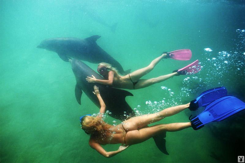 подводное эротическое фото