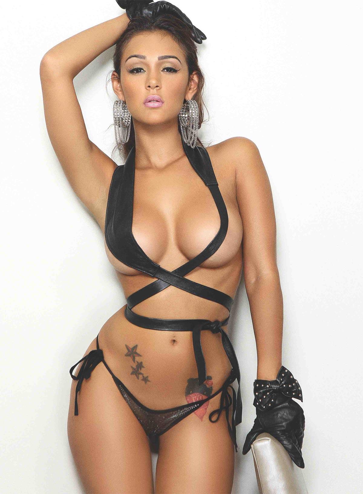 Американская модель Iesha Mariee