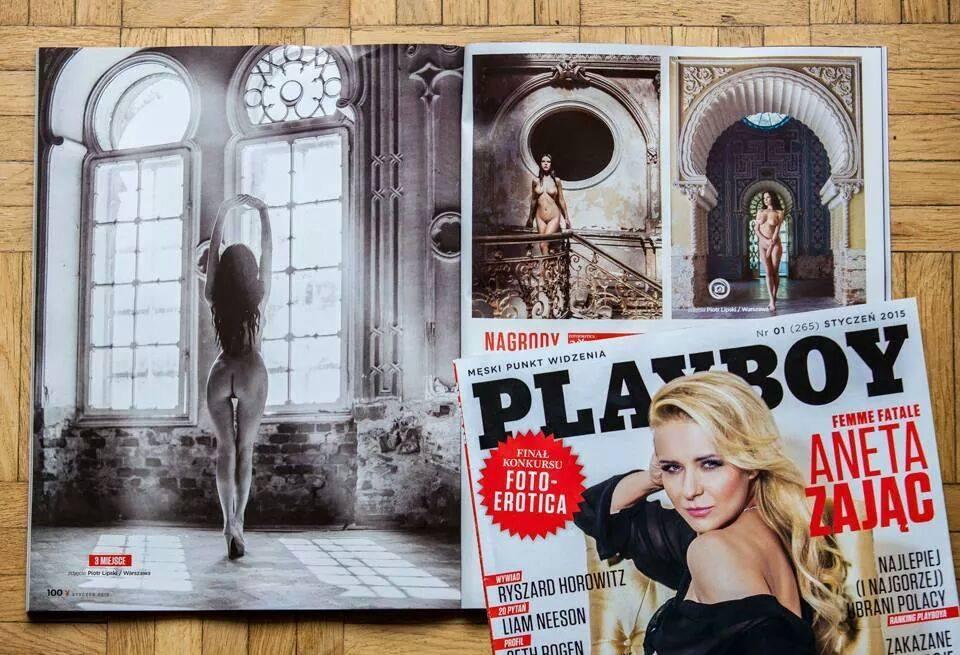Patrycja Gancarz в польском Playboy (январь 2015)