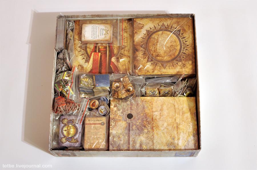 База с двумя дополнениями помещается в базовую коробку