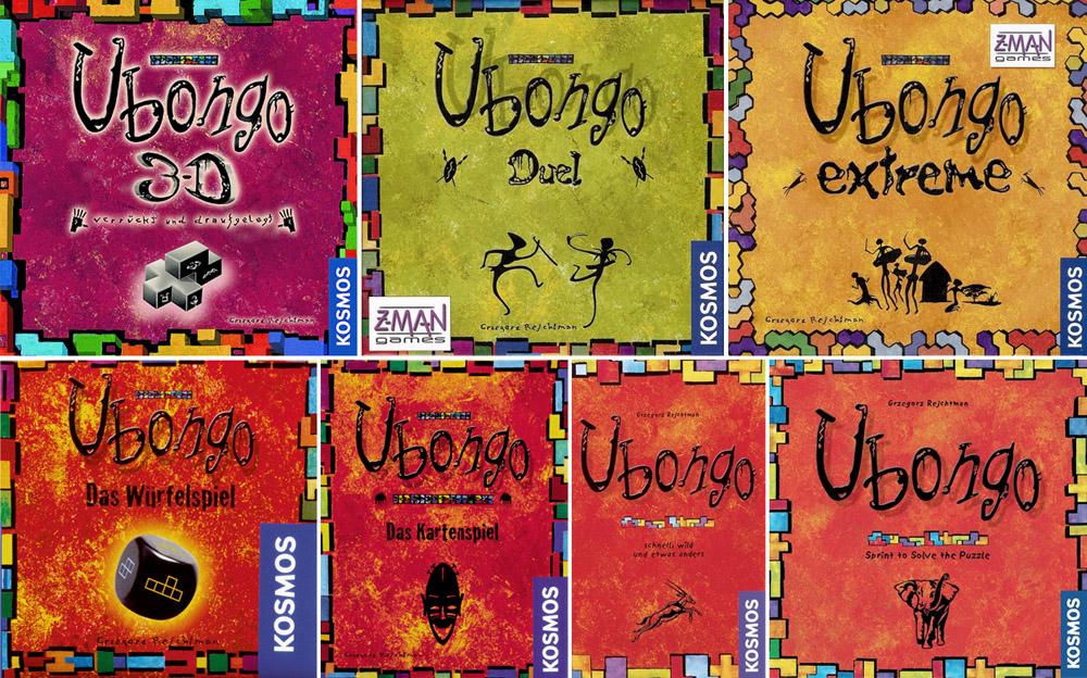 Разновидности Убонго