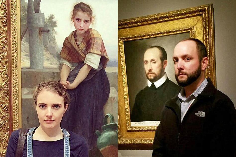 Двойники на древних портретах
