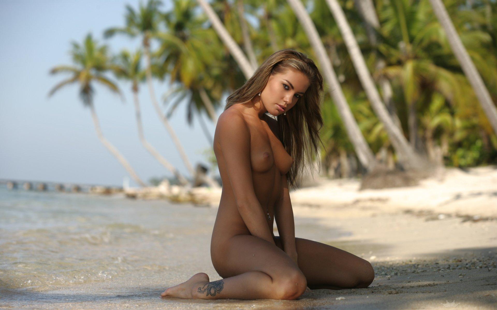 красивое порно море пальмы - 12