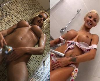 Секс с катей самбукой в душе