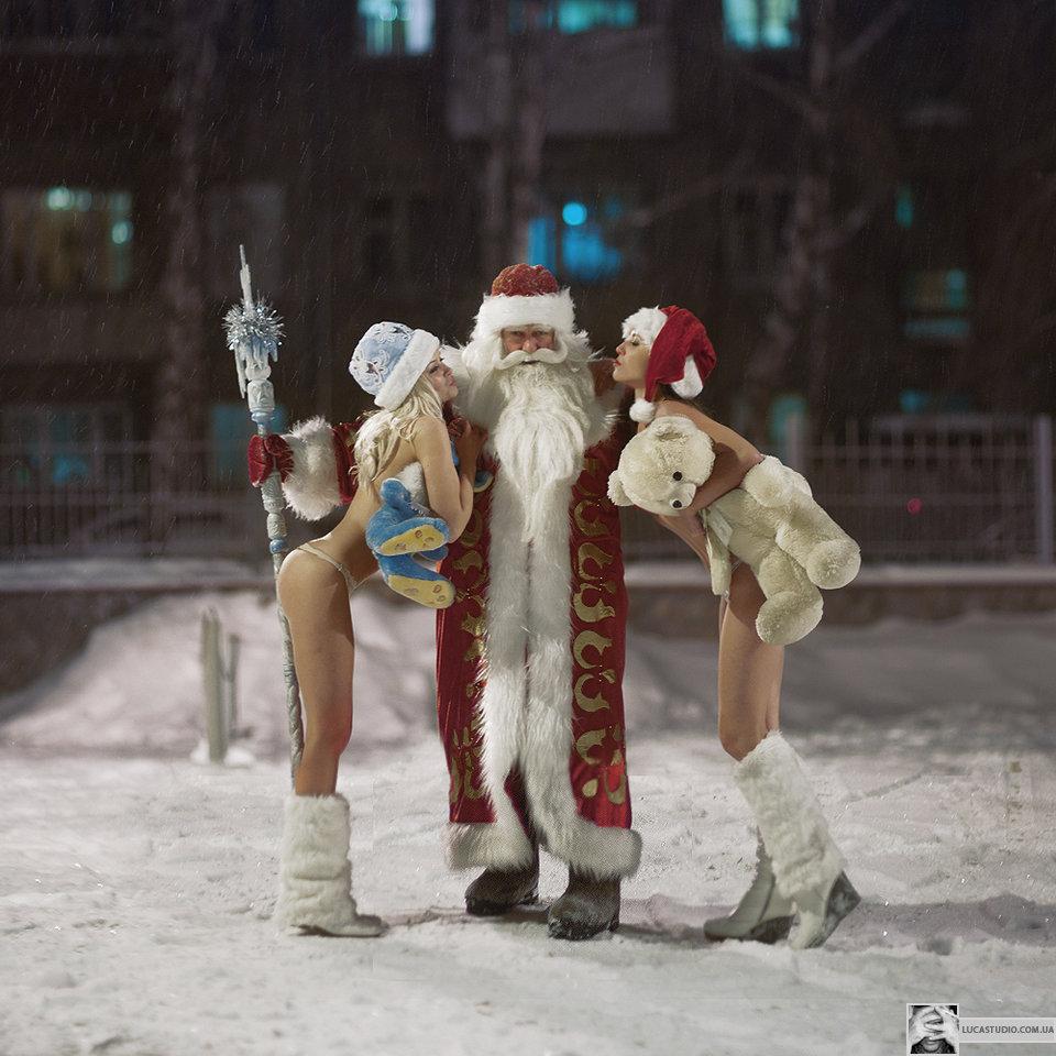 Дед мороз и снегурочка эротика