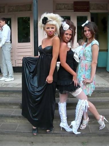 шокирующие фото выпускниц