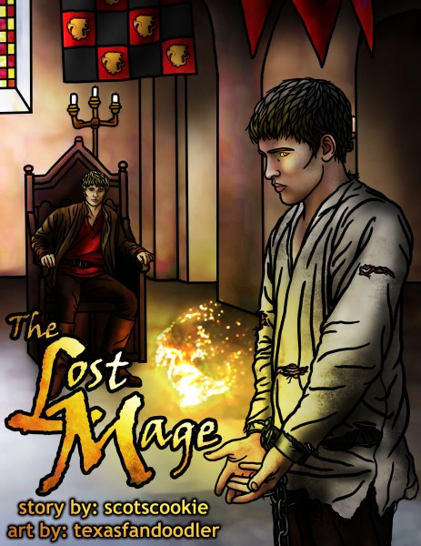 1 - Cover Art - The Lost Mage