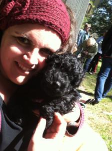 A puppy!
