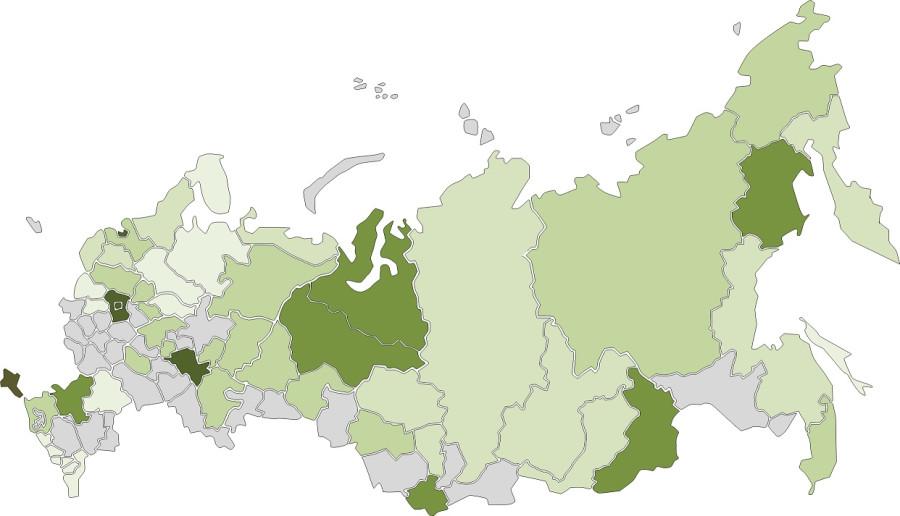 Где меня носило по России