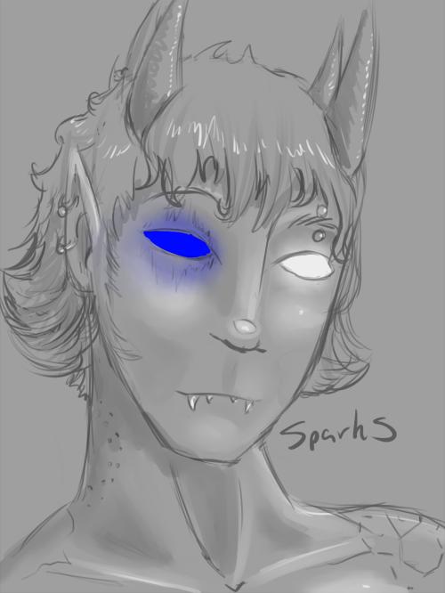 sparks portrait