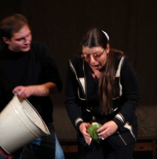 """это Иван, но не с Анной Козловской, а с Натальей на """"Театральном ринге"""""""