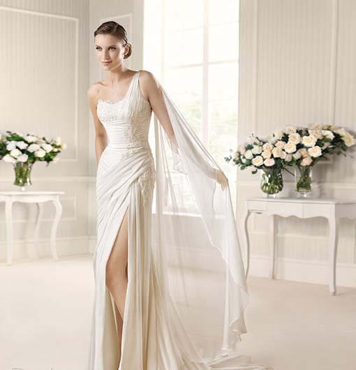 la-sposa-2013-fashion-musa-one-shoulder-high-slit-drape-wedding-dress