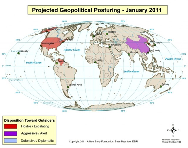 Geopolitical Posturing January 2010