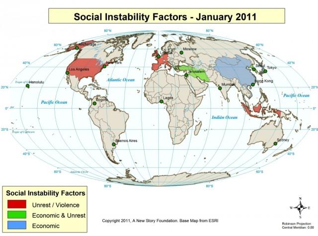 Social Instability Factors January 2010