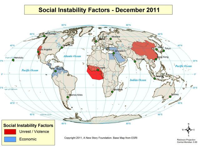 Social Instability December 2011