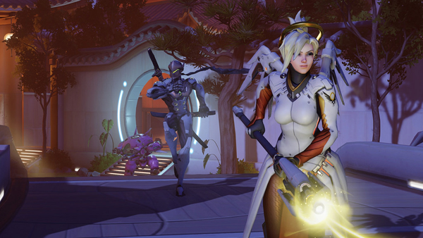 Mercy and Genji looking for trouble. Is D.Va with them or hunting them?
