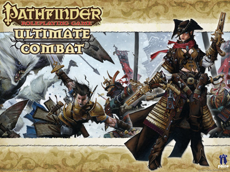Pathfinder Ultimate Combat cover