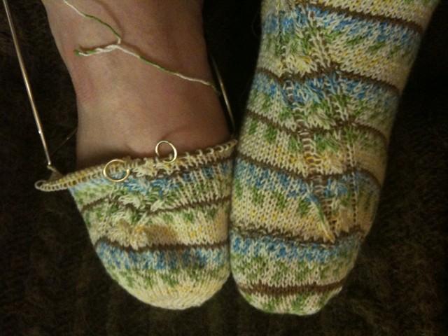 Foot detail. :)